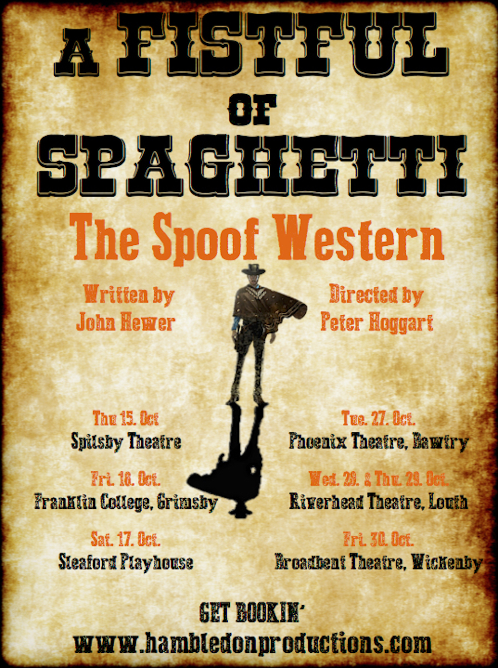 A Fistful of Spaghetti Dates Announced