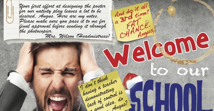 Welcome to our School Play poster